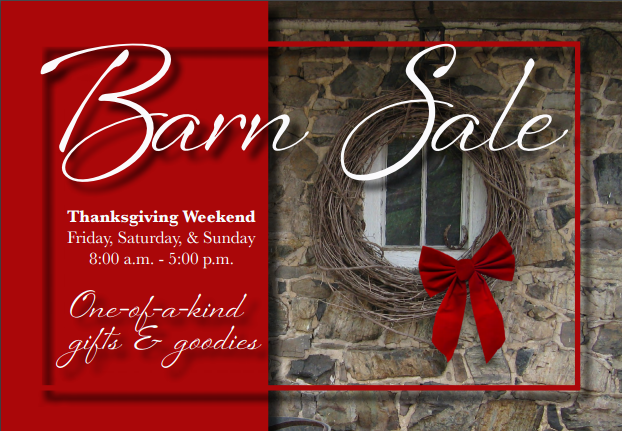 Holiday Barn Sale 2015